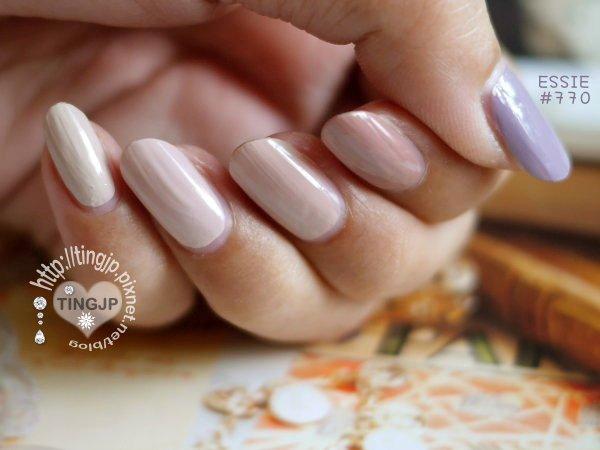 大拇指灰紫有點跑色