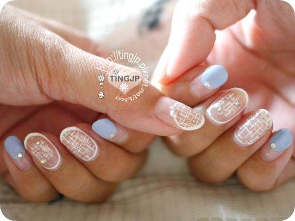 白+藍+銀