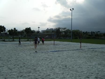 北濱公園-沙灘排球場