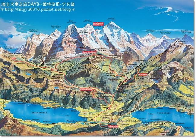 Jungfrau-map