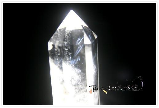 窗子藍針水晶柱,進入充滿靈性的時光隧道。(四)