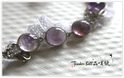 金字塔紫水晶+粉晶手鍊,用靈魂交織出苦澀與甜美的奇蹟享受~