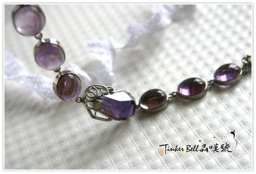 金字塔紫水晶+粉晶手鍊,用靈魂交織出苦澀與甜美的奇蹟享受!