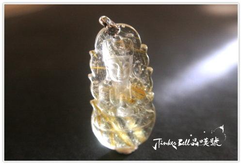 特有的靈氣鈦晶淨瓶觀世音菩薩,具有安穩的支持能量及具體的行動力……。