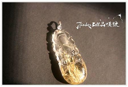 持淨瓶鈦晶觀世音菩薩的力量,產生「靈動」帶來正向能量,行走於希望的方向。