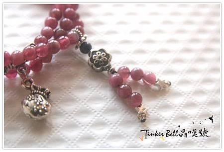 玫瑰碧璽+拉利瑪+青金石108顆,回想到亞特蘭提斯療癒聖殿,喚醒水晶祭師的療癒!