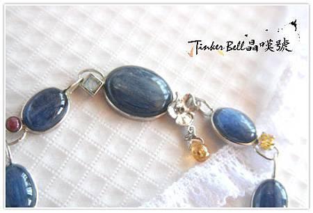 藍晶石+太陽石+月光石+紅寶+黃晶~