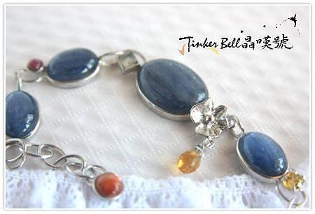 藍晶石+太陽石+月光石+紅寶+黃晶,相信內在神性,學習堅持然後珍惜運用。