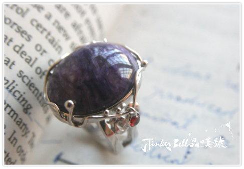 大師紫龍晶+晃動紅綠晶魔法戒指,去除恐懼也增強克服恐懼心,有引導開啟相信自己之路的效果。