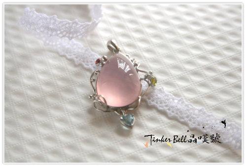 星光粉晶+海水藍寶+紅黃晶,滿足自己的需要,回歸單純,感受人際的純粹與美好。
