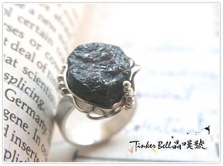 原礦黑碧璽魔法戒指,促進循環阻擋煞氣,提升敏感度加強各脈輪能量。.jpg