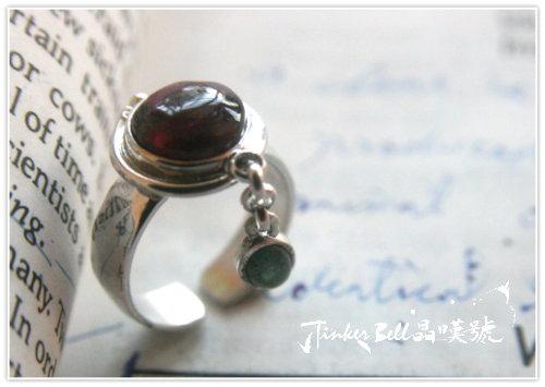 紅碧璽+綠碧璽魔法戒指,學會以優雅、安定、平靜來面對衝突和逆境。.jpg