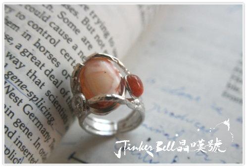 橘油彩粉蛋白石原礦魔法戒指,新世界正等待您的發現,您已將自己推向通往豐盛的道路。