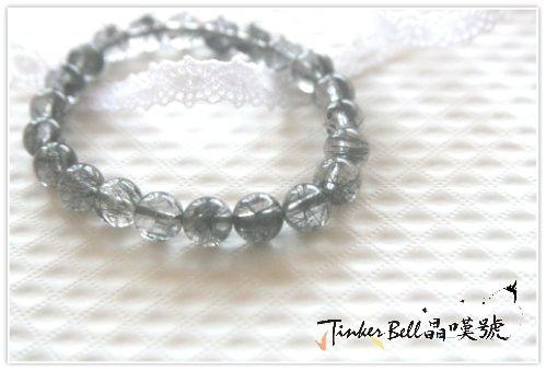 黑髮晶手珠,防止濁氣及靈氣干擾,是一種良好的附身符。.jpg