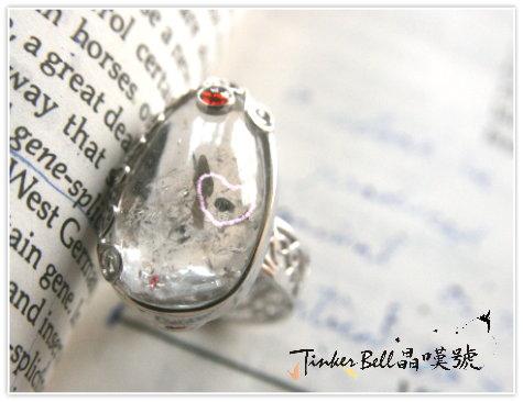 4號水膽水晶+紅貴石榴戒指。更純粹、更高的能量。.jpg