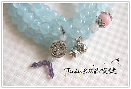 海水藍寶+粉蛋白石+月光石108顆,.JPG
