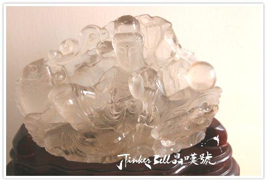 天然激光茶晶鯉魚觀音雕件整體,.jpg