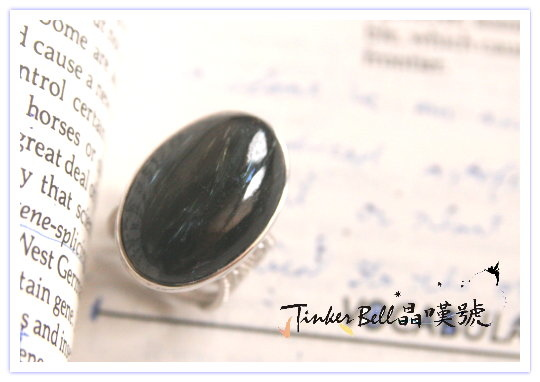 黑閃石(使命石水晶)戒指,如光之耀眼!.jpg