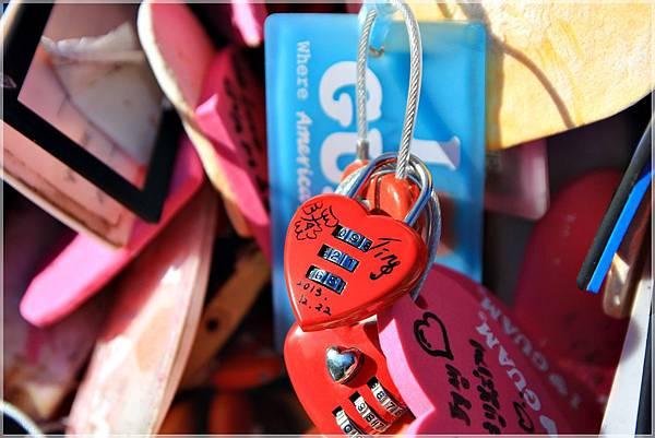 戀人岬、情人厓、關島、戀人鎖、杜夢灣