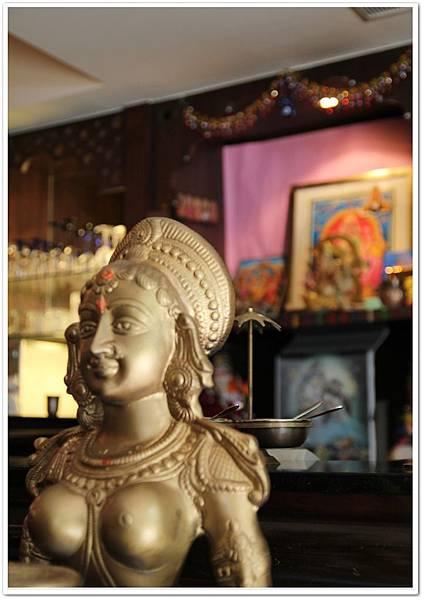 坦都印度餐廳,印度奶茶、羊肉烤餅、菠菜草蝦、北印度料理