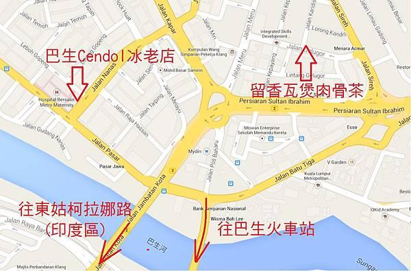 肉骨茶map