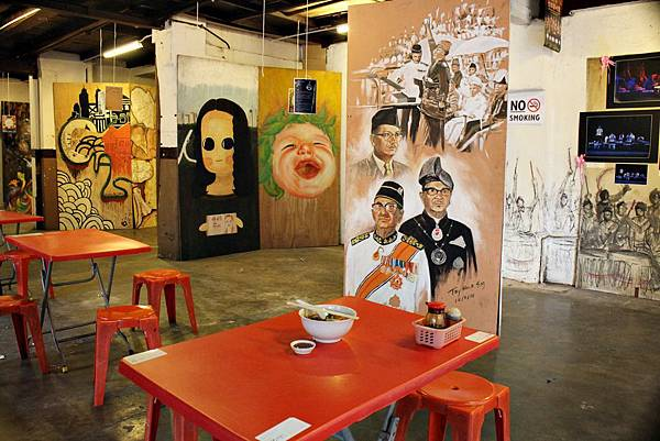 馬來西亞自由行,新山,咖哩叻沙,必吃叻沙,茶餐廳