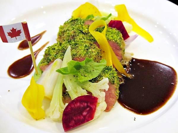 加拿大牛肉,亞洲廚神,李佳其,情人餐食譜,牛肉料理食譜,