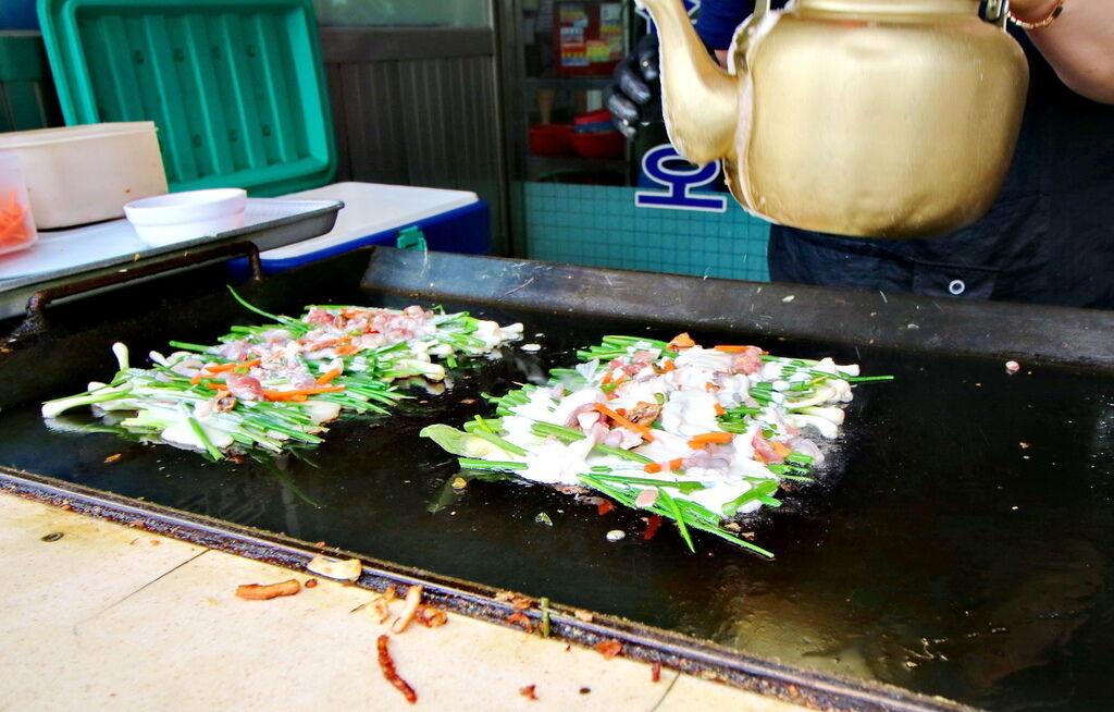 韓國釜山自由行,釜山必吃,釜山必吃東萊蔥餅,釜山必吃安康魚,