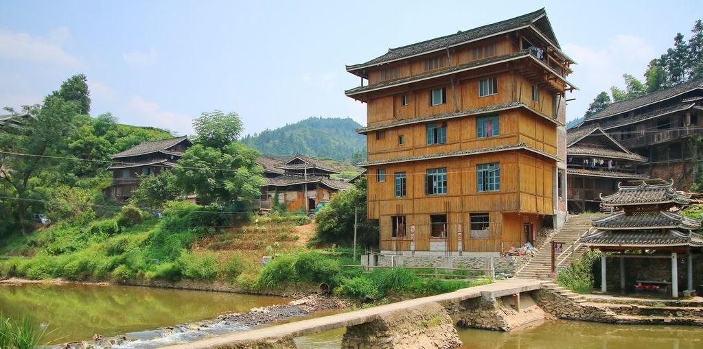 廣西,新桂聯盟,侗族少數民族,程陽八寨景區,