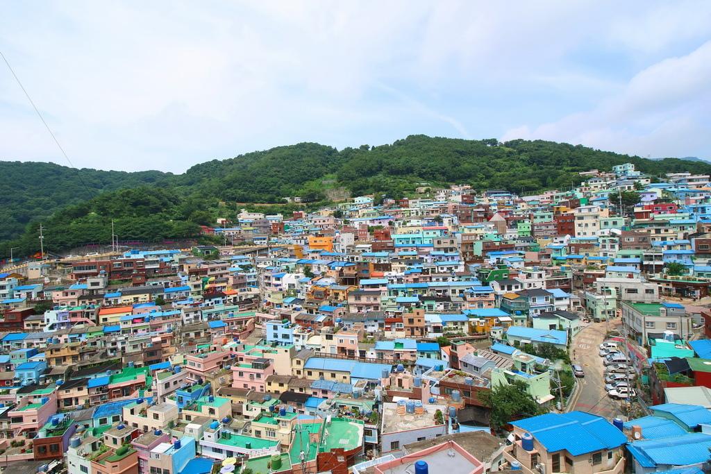 韓國釜山甘川洞文化村