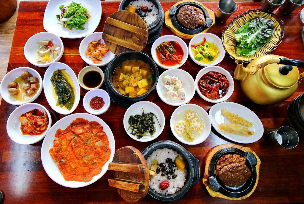 韓國環島,韓國吃ㄊㄡ