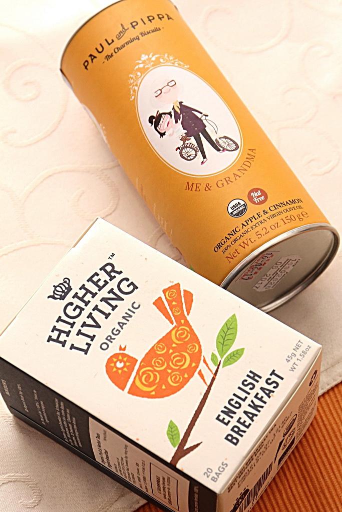 Higher Living 經典英式有機茶 Paul&Pippa有機餅乾
