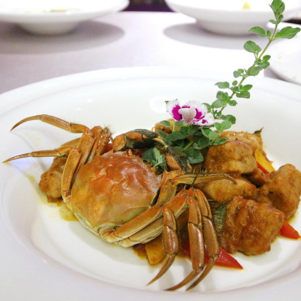 福華飯店,大閘蟹套餐,