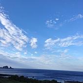 在蘭嶼拍最多的就是天空,這裡的雲都好有戲哦!