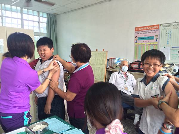 1031104打流感疫苗