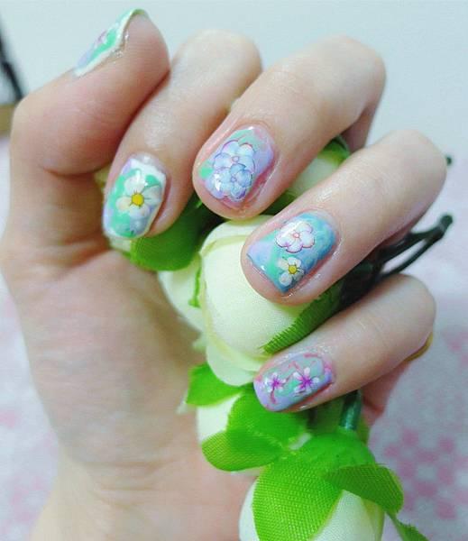 渲染x粉彩花兒
