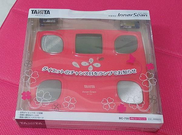 日本 TANITA 十合一體組成計 BC750