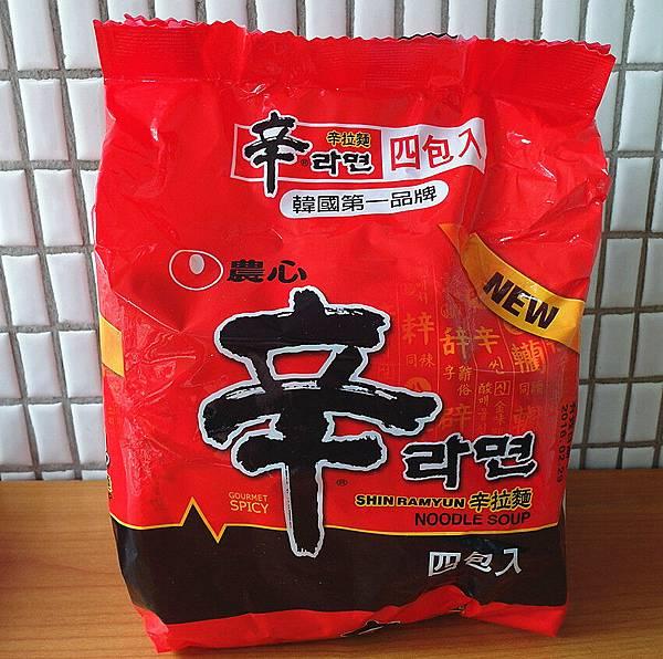 韓國 農心 辛拉麵 120g╳4包 乙袋入