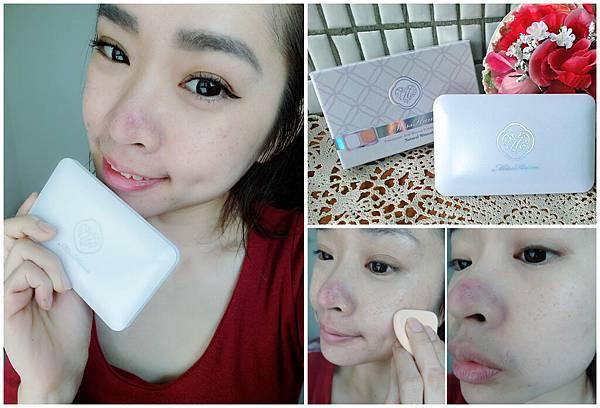 《底妝》Miss Hana 花娜小姐 傳明酸礦物控油蜜粉餅♥輕鬆給我如修片感的柔焦美肌!