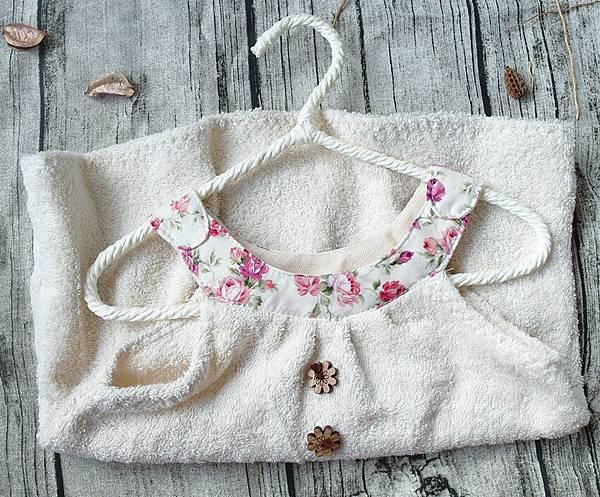 洽維無染薔薇背心裙擦手巾