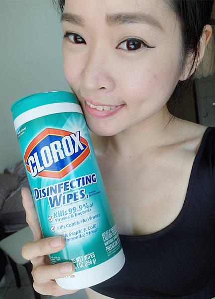 美國CLOROX 高樂氏居家殺菌濕紙巾