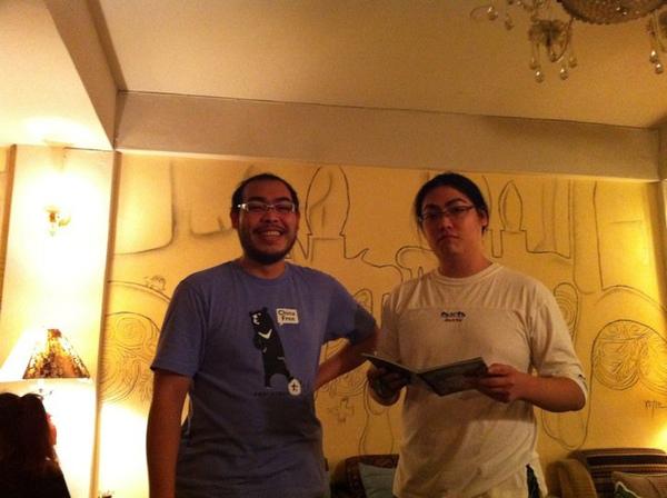 磨子老師與靦腆弟弟