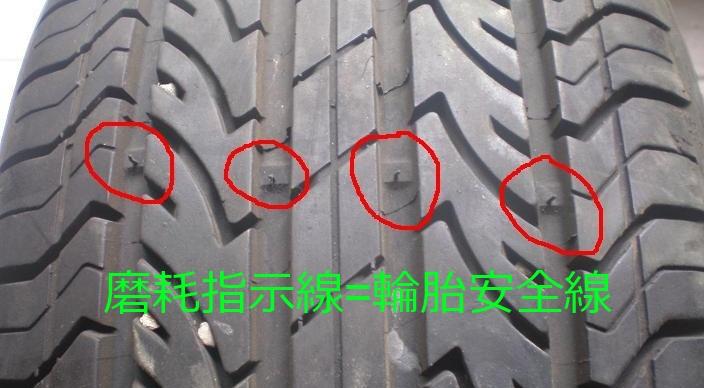 輪胎安全線