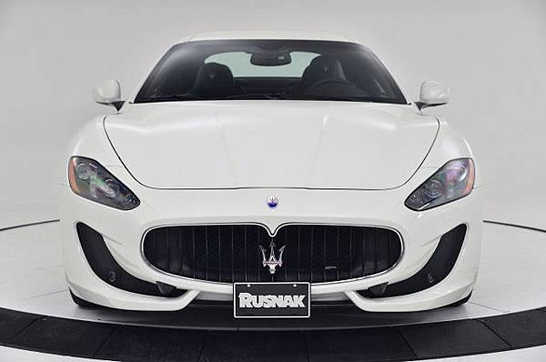 2013 Maserati GranTurismo Spor