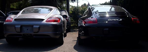 cayman S 跟 Carrera S