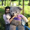 薰衣草森林的熊熊..口愛喔!!