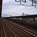 嘉義的鐵路..嘉義的天空..