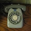 好復古的電話.這小時候家中也有