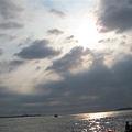 淡水的天空總是很美..