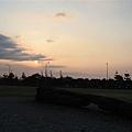 夕陽...